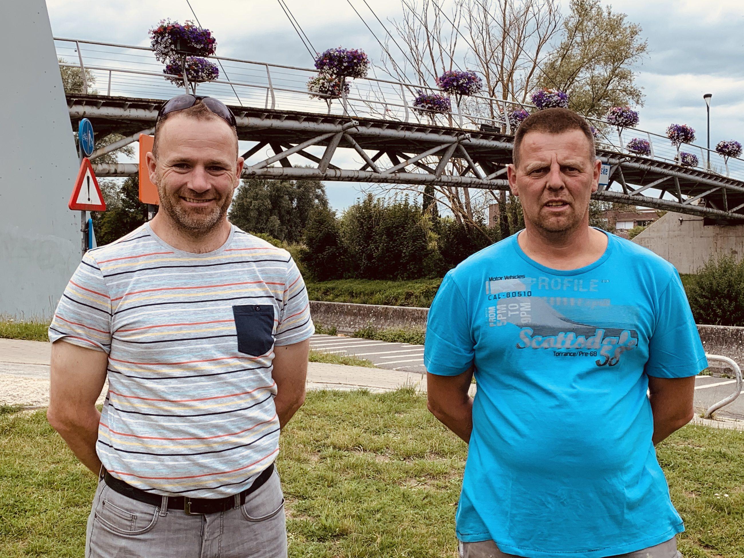 Steven Arijs en Serge Van Lierde