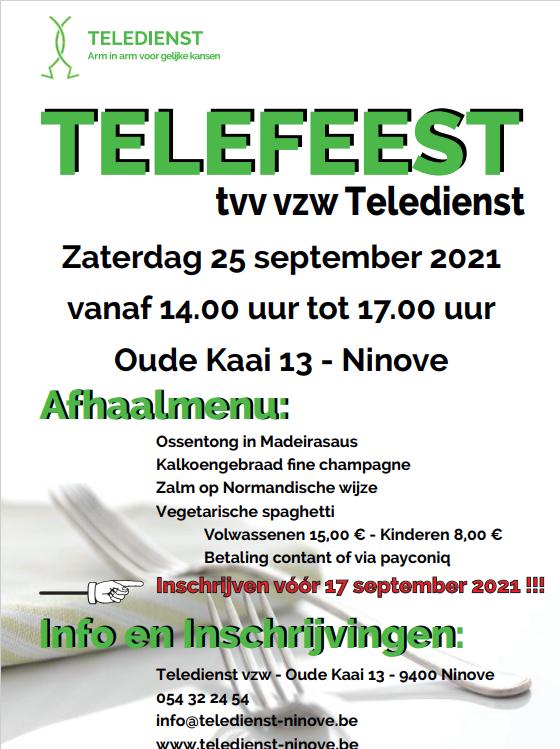Afhaaleetfestijn Teledienst